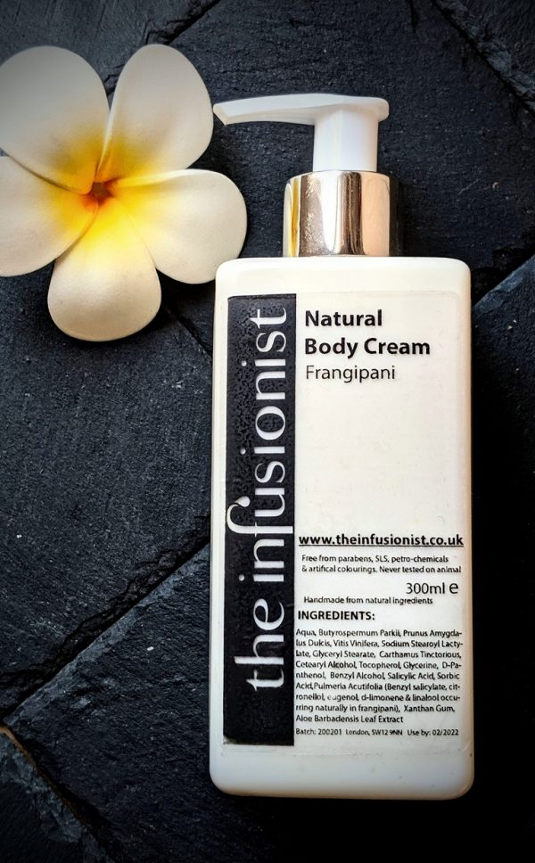frangipani body cream
