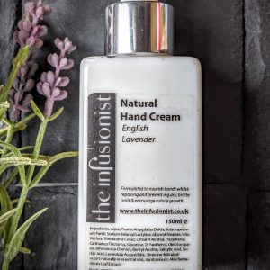 natural hand cream, organic lavender