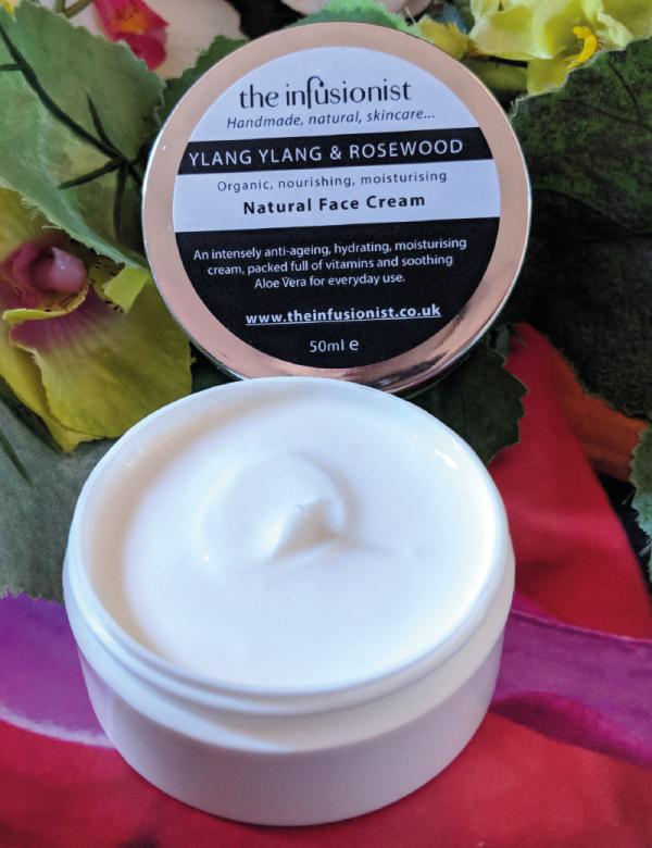 Face Cream -Ylang Ylang & Rosewood